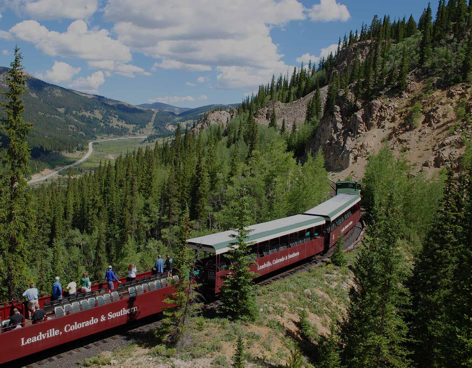 header   Leadville, Colorado & Southern Railroad: Scenic