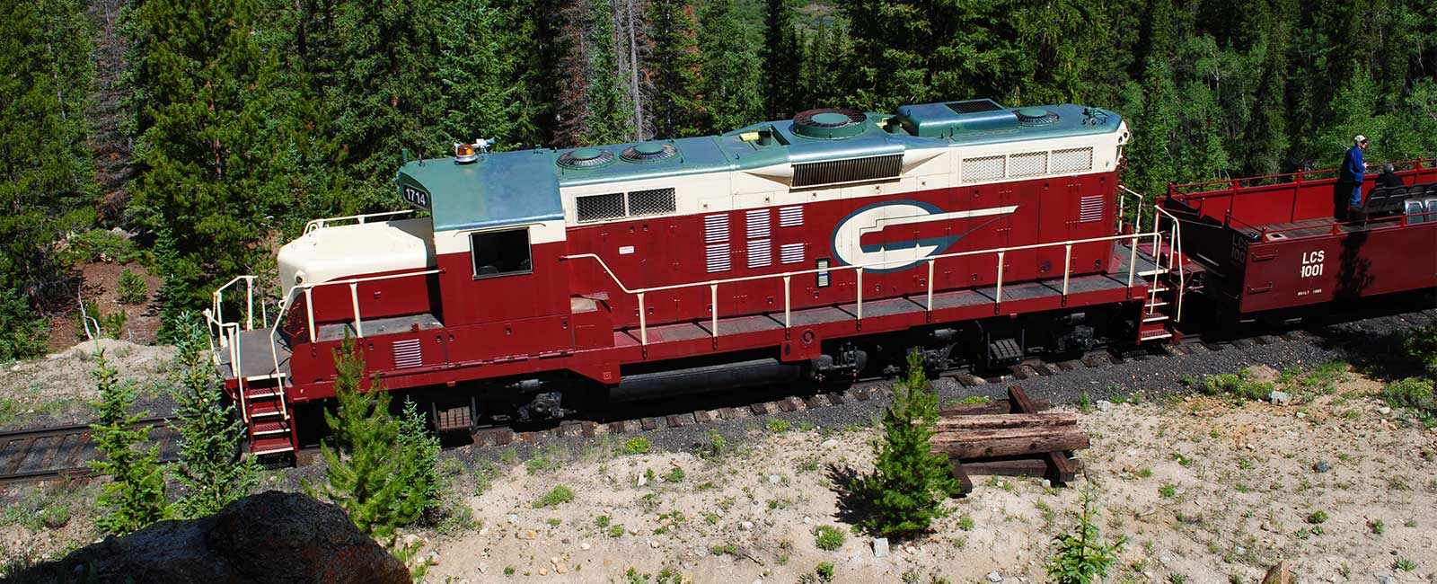 leadville colorado southern railroad scenic train rides